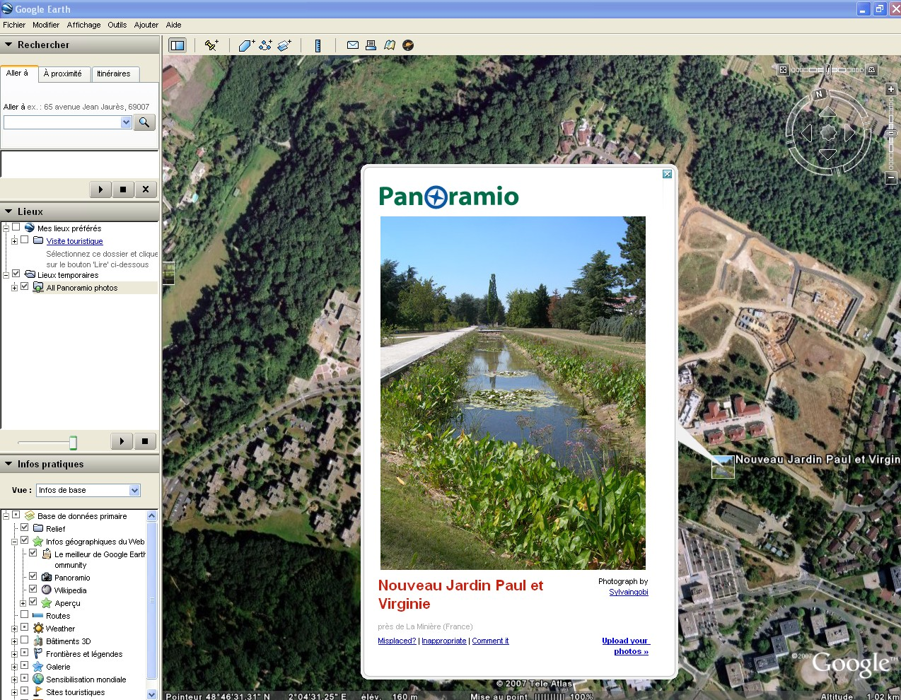 How to use panoramio entering the blogosphere for Panoramio photos